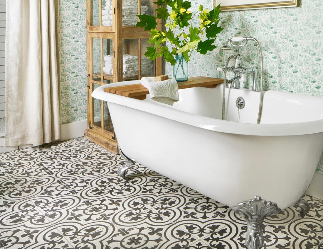 Fox country farmhouse Bathroom Soaking Tub