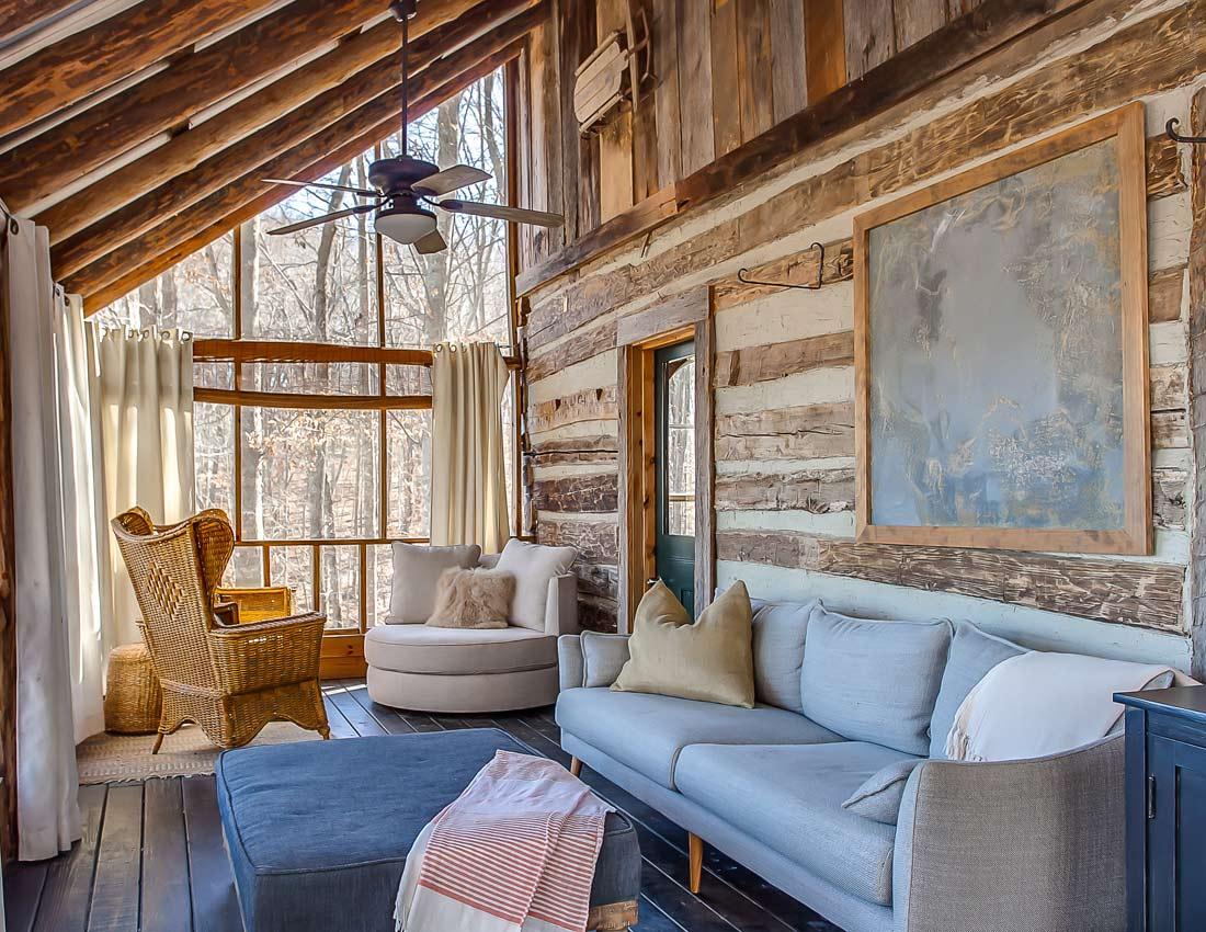 whites centerhill lake cabins screen porch