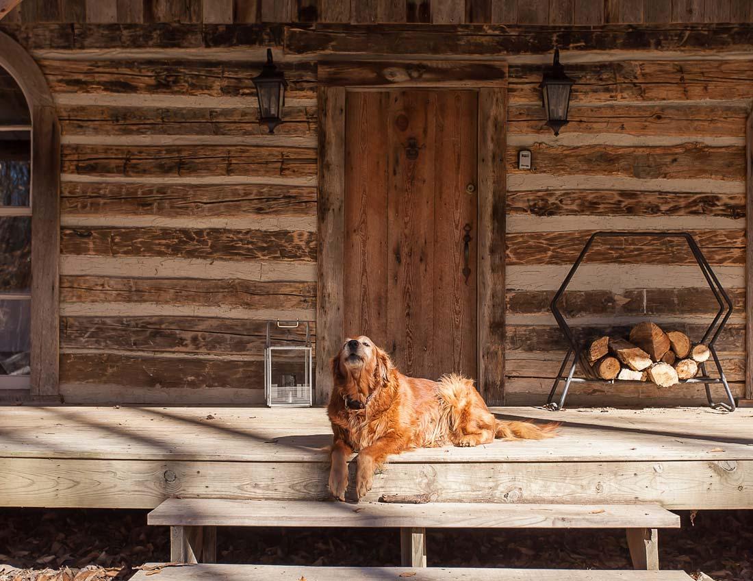 whites centerhill lake cabins porch